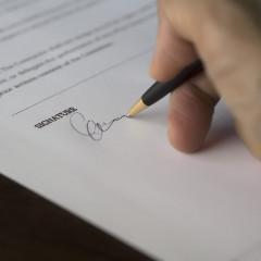 Étape N°4 : sélection et signature